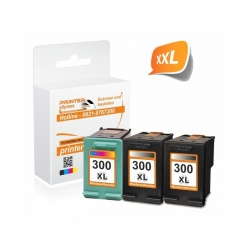 HP 300 Multipack 2x Schwarz + 1x Color (HP CC641 EE,...