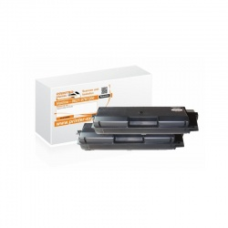 Toner 2er Set alternativ zu Kyocera TK-580BK f�r...
