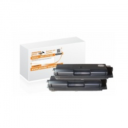 Toner 2er Set alternativ zu Kyocera TK-590BK f�r...
