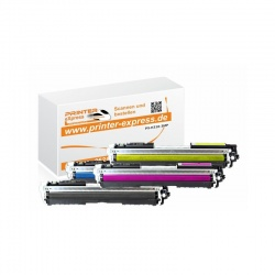 Toner Multipack alternativ zu HP CE310A, CE311A, CE312A,...