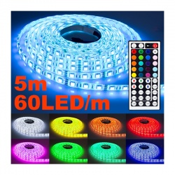 NINETEC Flash60 5m LED-Strip Band 60 LEDs pro Meter...