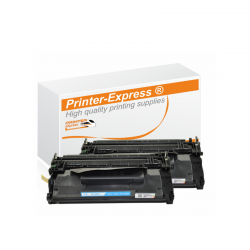 Toner 2er Set alternativ zu HP CF287A, CF287 A, 87A...