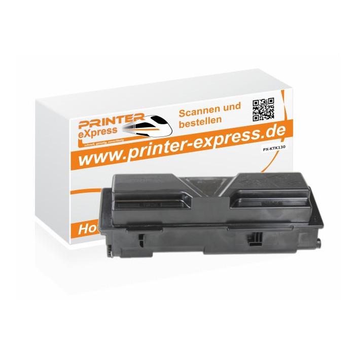 Toner ersetzt Kyocera Mita TK130, TK 130 schwarz