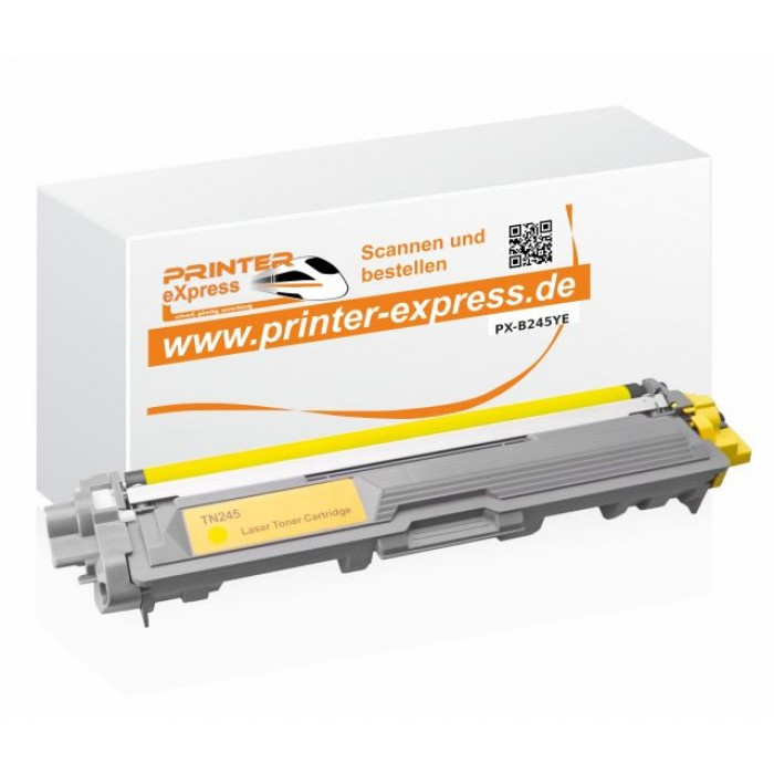Toner alternativ zu Brother TN-245Y, TN245Y, TN245 gelb