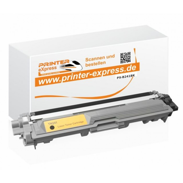 Toner alternativ zu Brother TN-241BK, TN241BK, TN241 schwarz