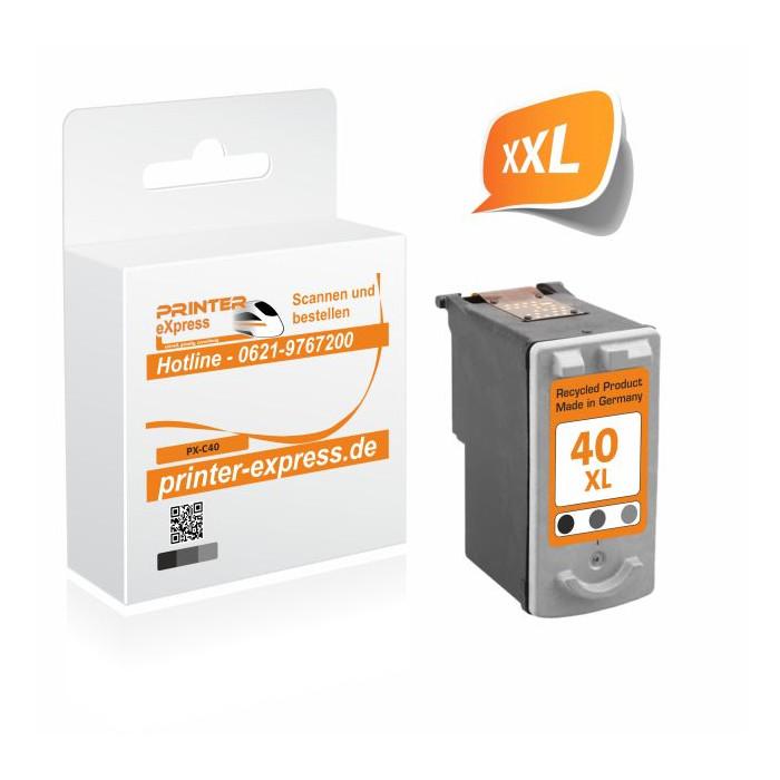 Printer-Express Druckerpatrone ersetzt Canon PG-40 schwarz