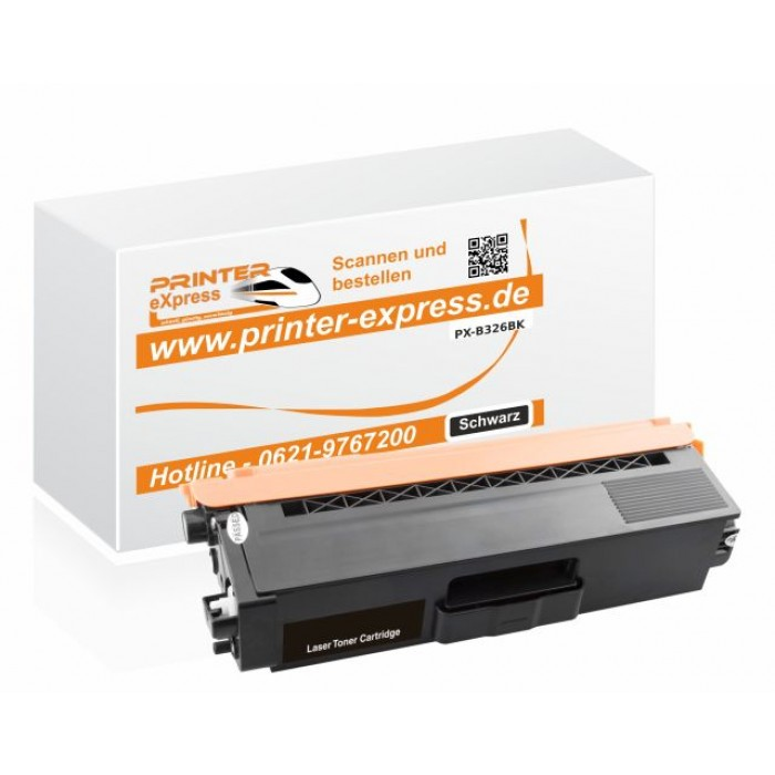Alternativ zu Brother TN-326BK Toner schwarz