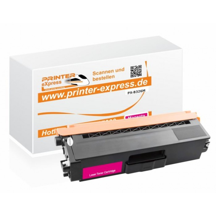 Toner alternativ zu TN-326M, TN326M für Brother Drucker...