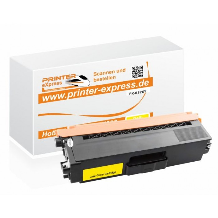 Alternativ zu Brother TN-326Y Toner gelb