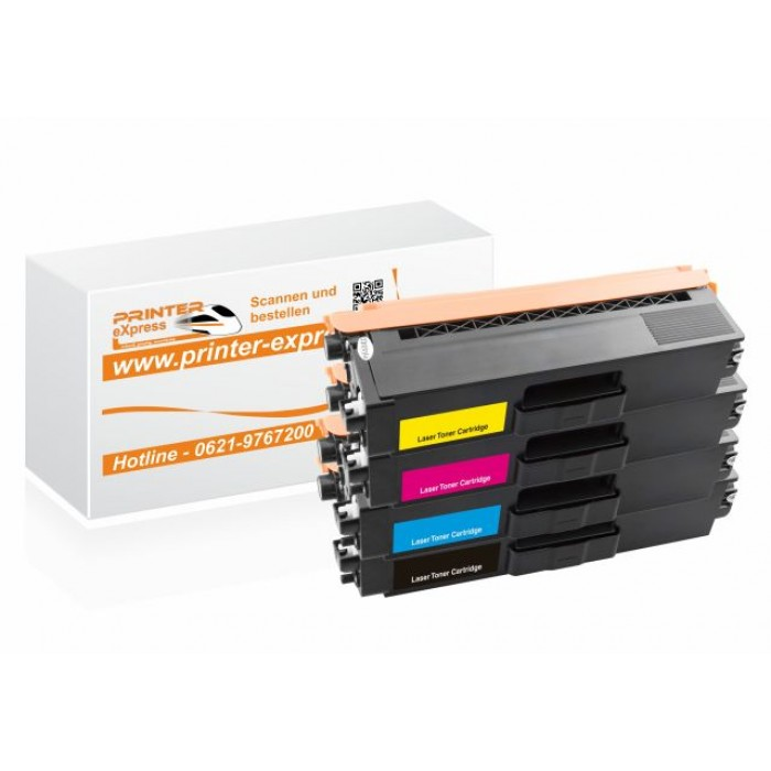 Toner 4er Set alternativ zu TN-326, TN326 für Brother...