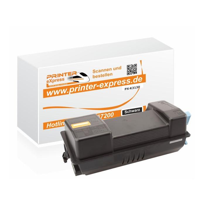 Toner ersetzt Kyocera Mita TK3130, TK 3130 schwarz