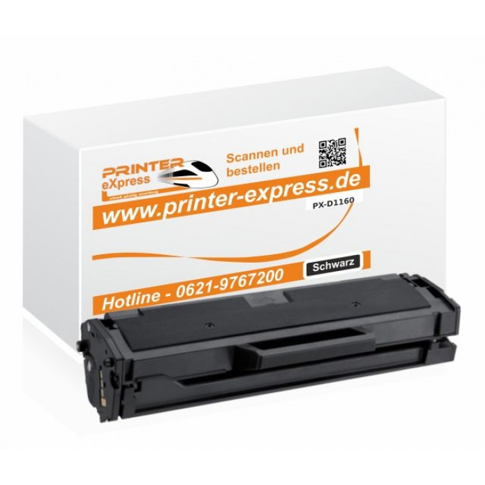 Printer-Express XL Toner ersetzt Dell 1160, B1160 schwarz