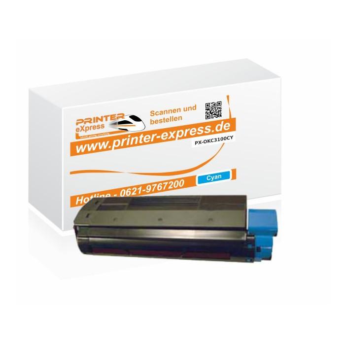 Toner ersetzt Oki C3100, C3200, C5100 XL für Oki Drucker...