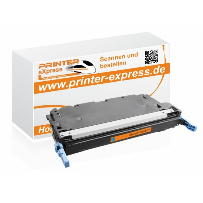 Alternativ zu HP Q6471A Toner cyan