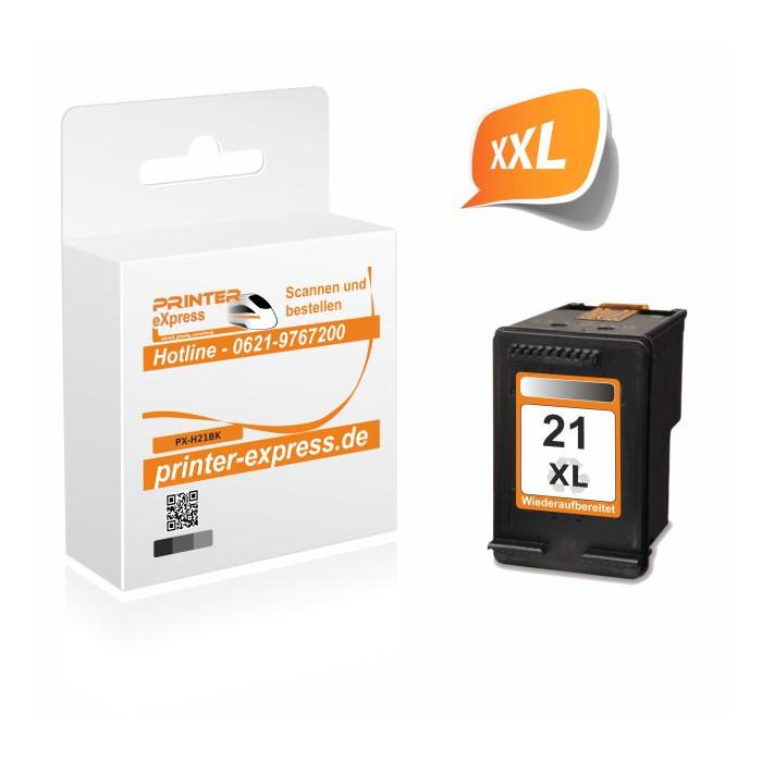 Printer-Express Druckerpatrone ersetzt HP 21XL, 21,...
