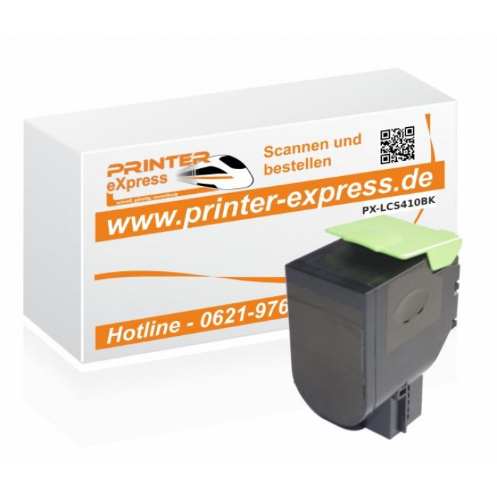 Toner alternativ zu Lexmark 800H1, 802HK, 80C0H10 für...