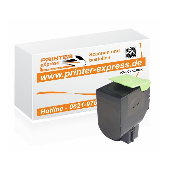 Toner alternativ zu Lexmark 800X1, 802XK, 80C0X10 für...