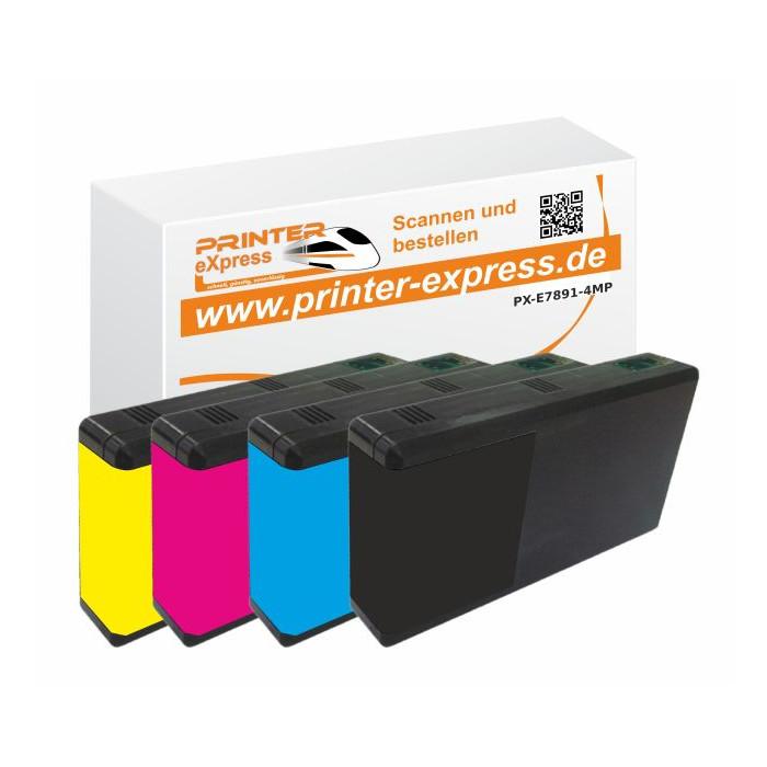 Druckerpatronen 4er Set ersetzt Epson T7891, T7892,...