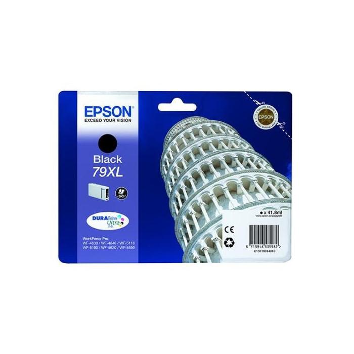 Epson T7901, 79 XL Druckerpatrone schwarz