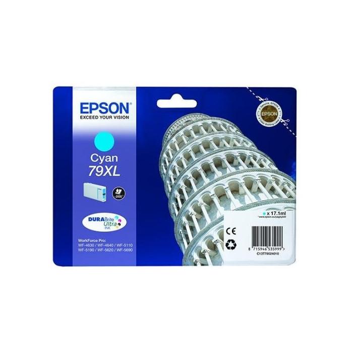 Epson T7902, 79 XL Druckerpatrone cyan