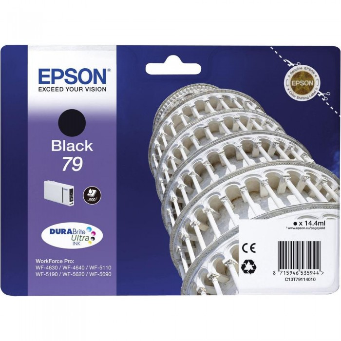Epson T7911, 79 Druckerpatrone schwarz