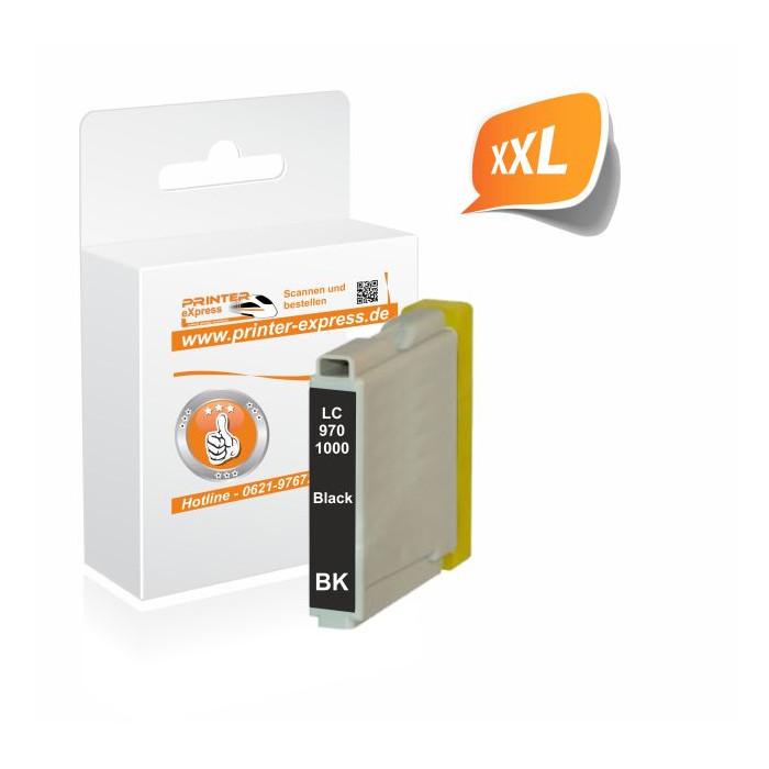 Printer-Express Druckerpatrone ersetzt Brother LC-970BK,...