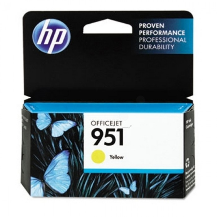 HP 951 Druckerpatrone gelb CN052AE