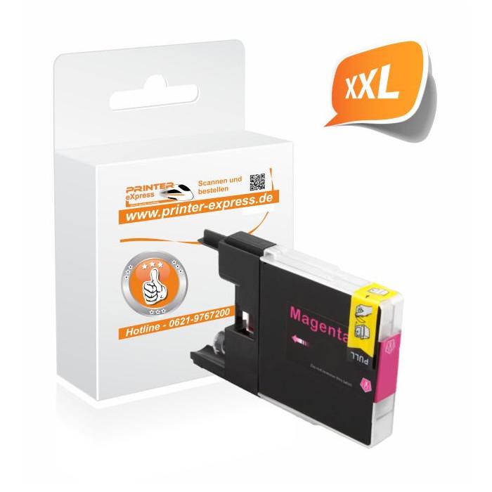 Printer-Express Druckerpatrone ersetzt Brother LC-1280M,...