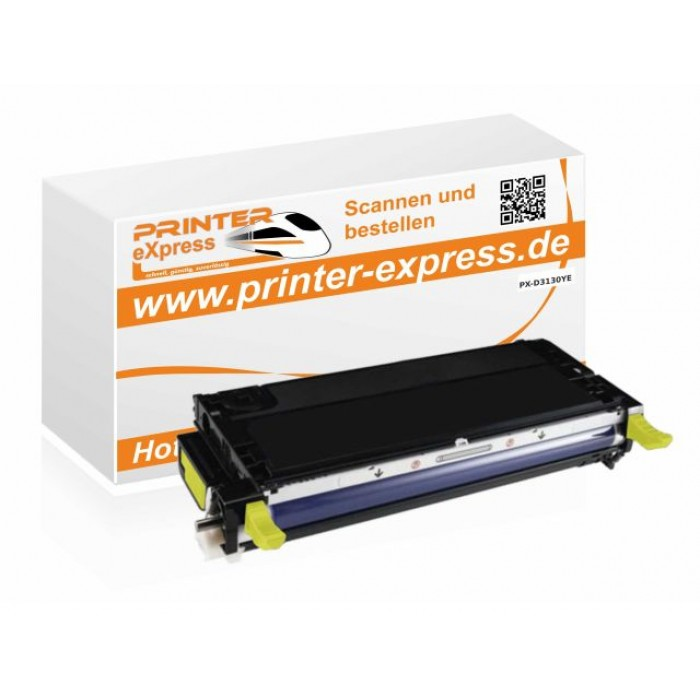 Alternativ zu Dell H515C, 593-10291 Toner gelb