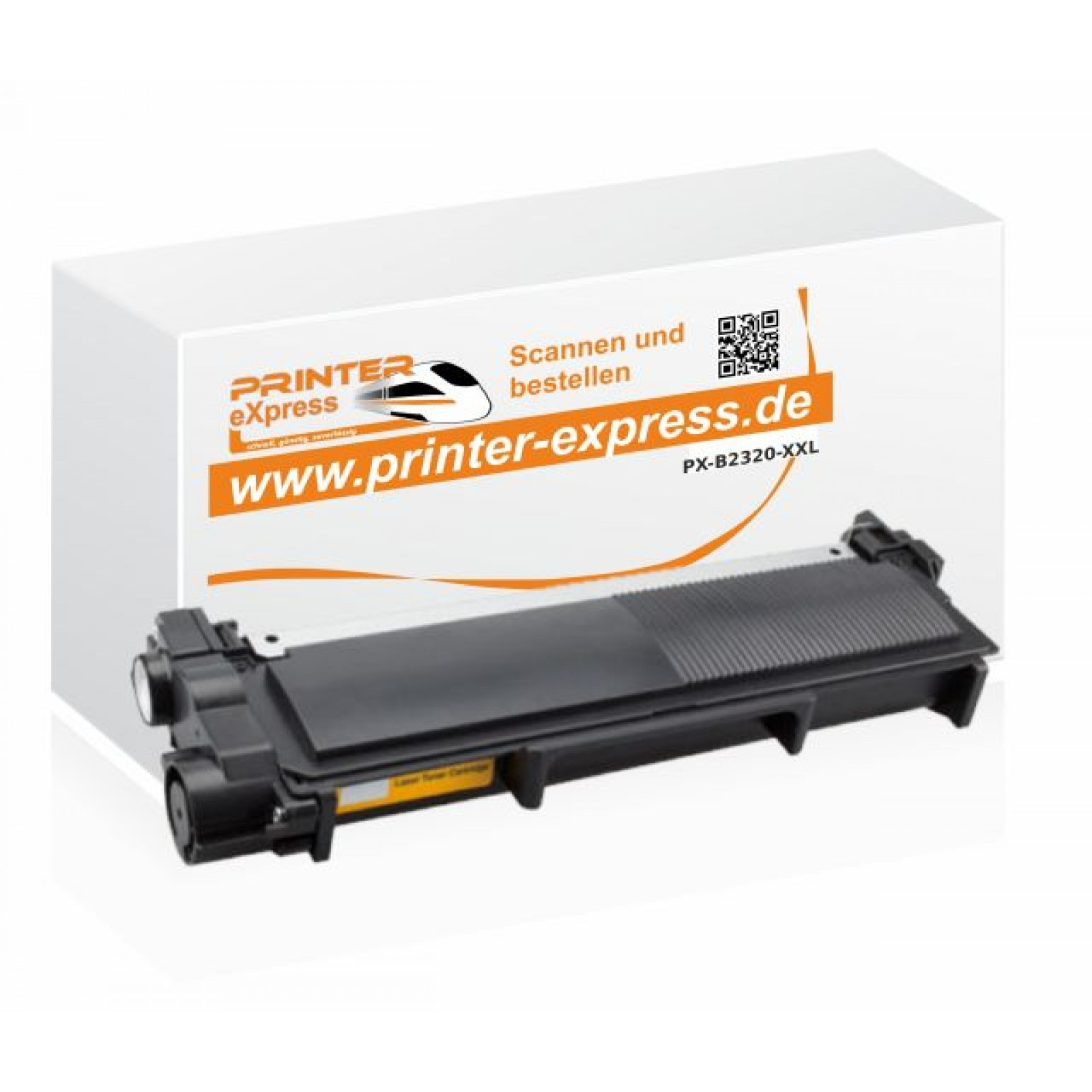 Alternativ Brother Toner TN-2320 XXL 5.400 Seiten schwarz