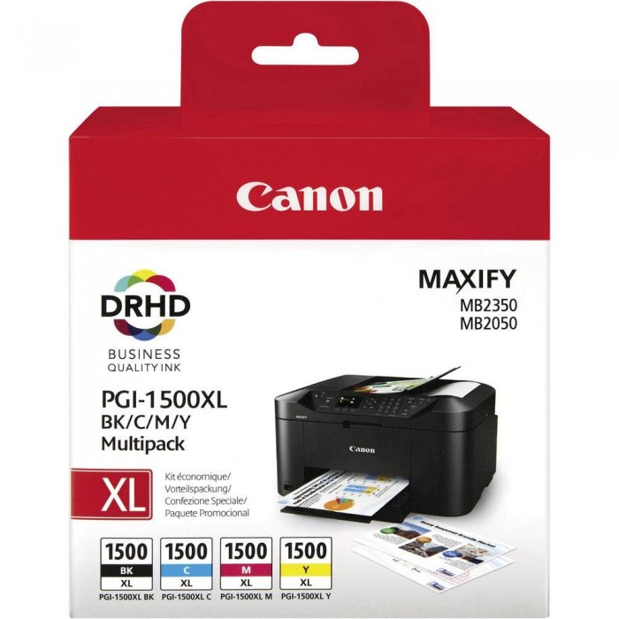 Canon PGI-1500 XL Druckerpatronen Multipack