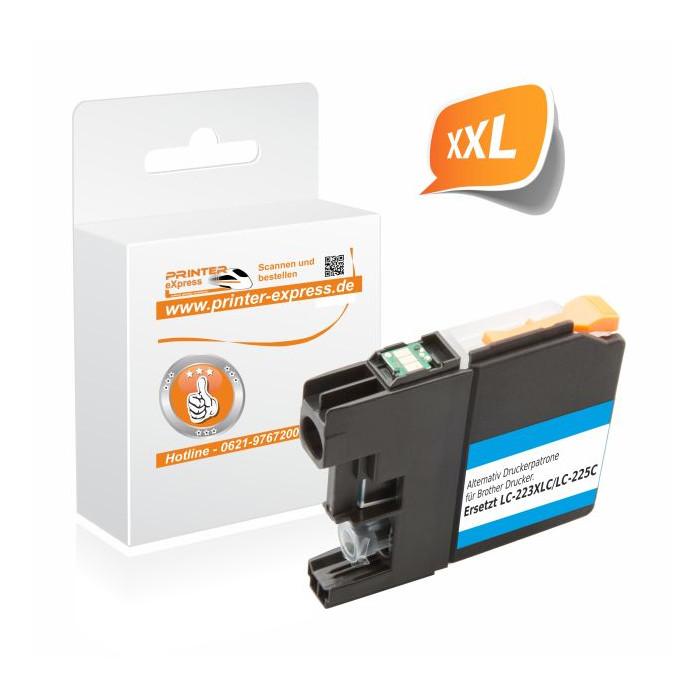 Printer-Express Druckerpatrone ersetzt Brother LC-225XLC...