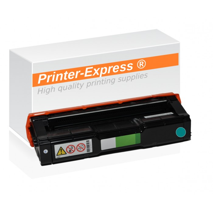 Toner alternativ zu Ricoh SP-C250, 407544 cyan