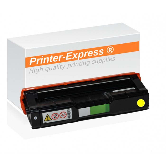 Toner alternativ zu Ricoh SP-C250, 407546 gelb