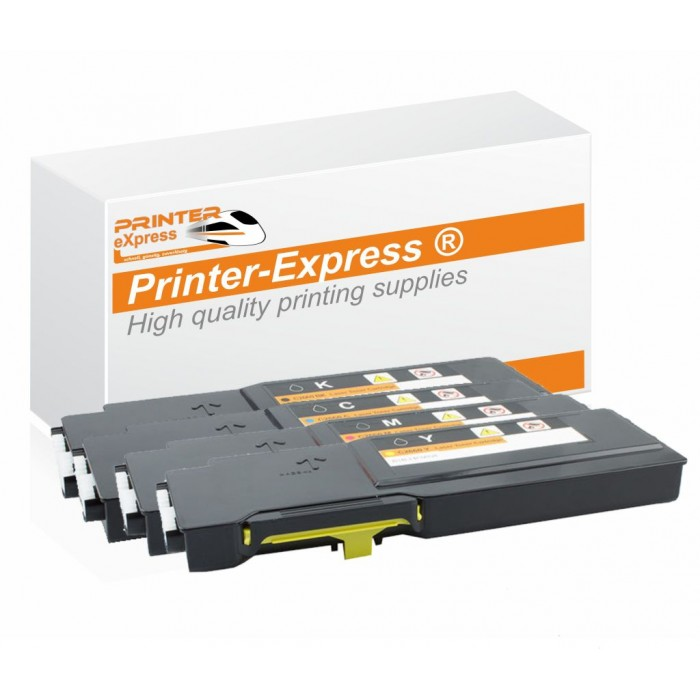 Toner 4er Set alternativ zu Dell C2660, C2665 für Dell...