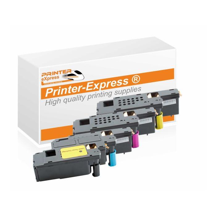 Toner 4er Set alternativ zu Dell E525 Serie für Dell Drucker