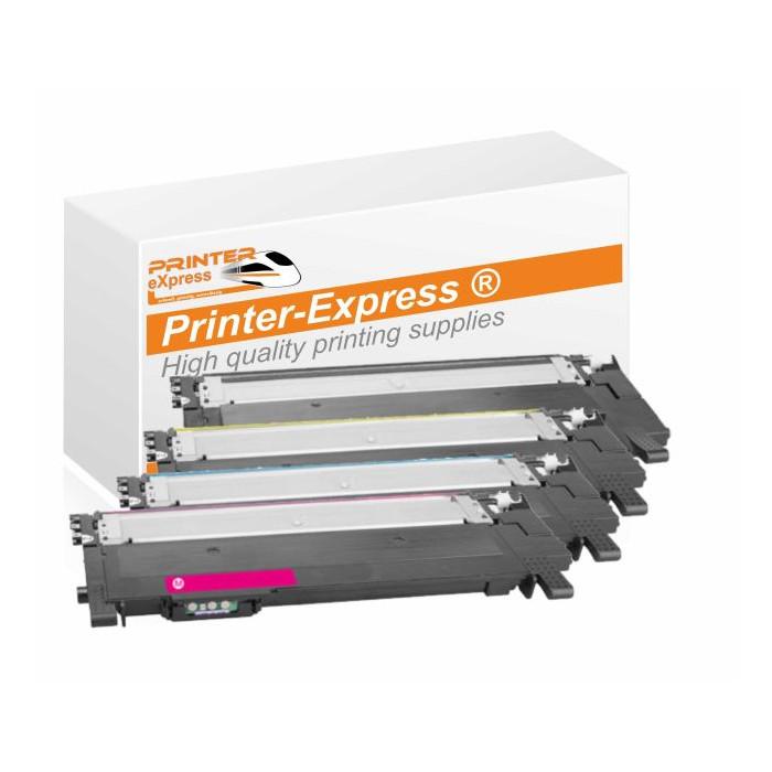 Toner 4er Set atlernativ zu Samsung Xpress C-430, C480...