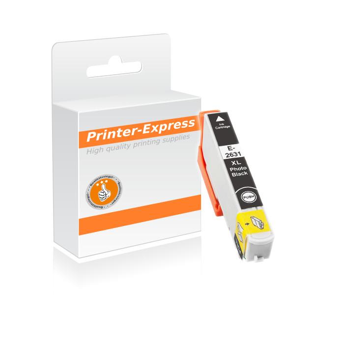 Druckerpatrone ersetzt Epson T2631, 26XL fotoschwarz