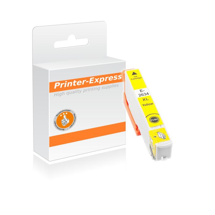 Druckerpatrone ersetzt Epson T2634, 26XL gelb