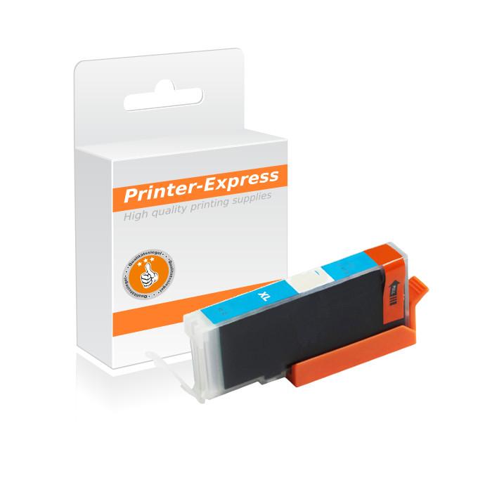 Druckerpatrone mit Chip ersetzt Canon CLI-571C, CLI571 cyan
