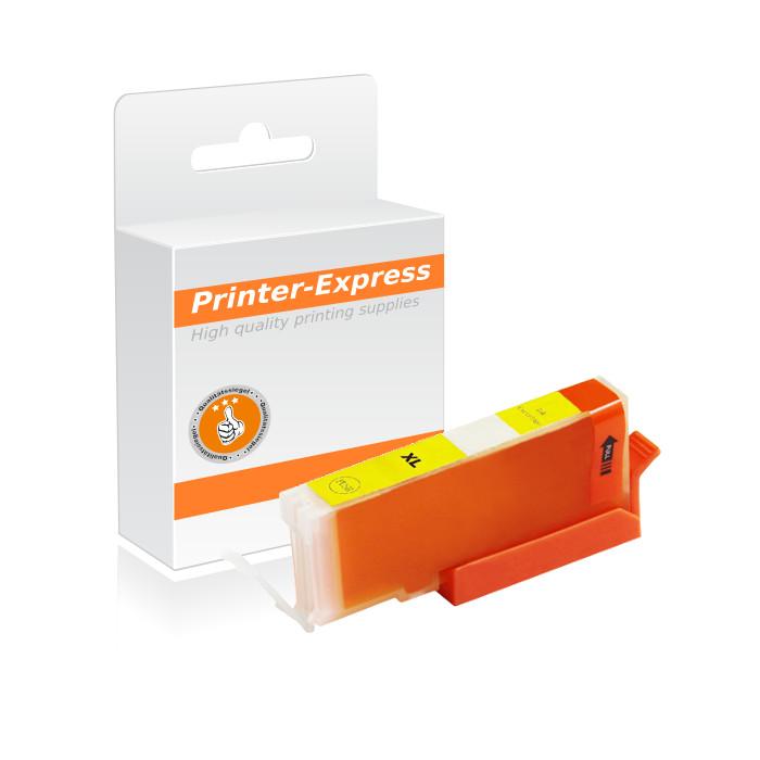 Druckerpatrone mit Chip ersetzt Canon CLI-571Y, CLI571 gelb