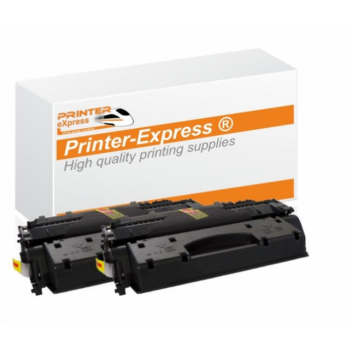 Toner 2er Set alternativ zu HP CF226X, CF226A, 26X für HP...