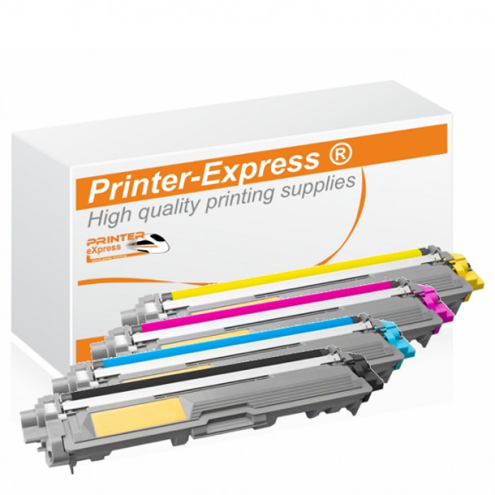 Toner 4er Set alternativ zu Brother TN-242, TN-246