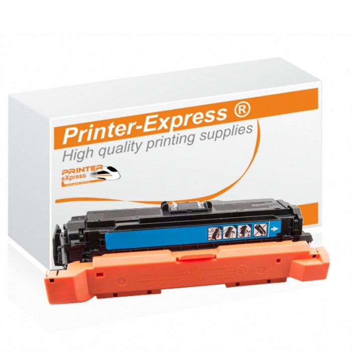 Toner alternativ zu HP CE401A, 507A für HP Drucker cyan