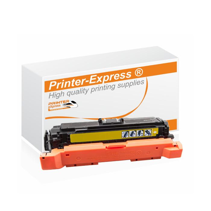 Toner alternativ zu HP CE402A, 507A für HP Drucker gelb