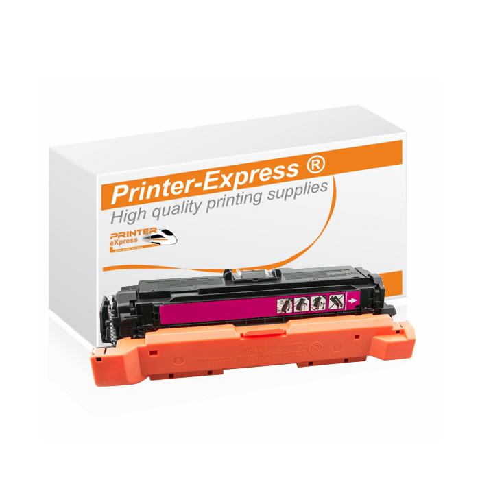 Toner alternativ zu HP CE403A, 507A für HP Drucker magenta