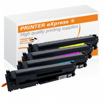 Toner 4er Set alternativ zu HP CF410X - CF413X, 410X für...