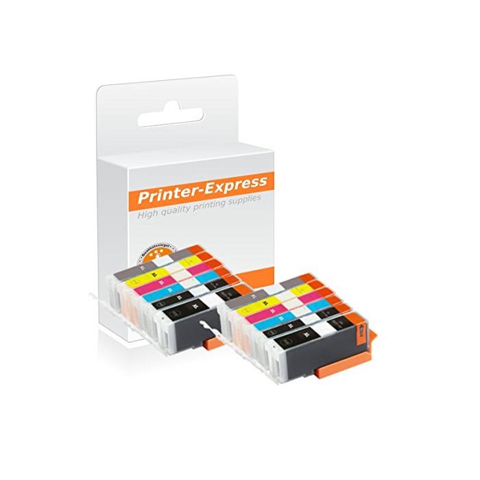 Druckerpatronen 12er Set mit Chip ersetzt Canon PGI-570,...