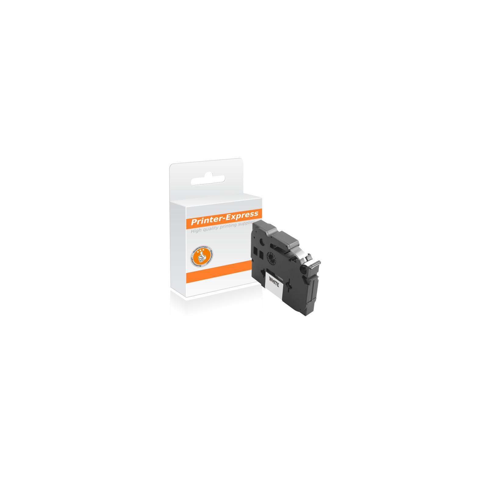 Kompatibel für Brother TZ-211 TZe-211 P-Touch Schwarz auf Weiß Schriftband 6 mm