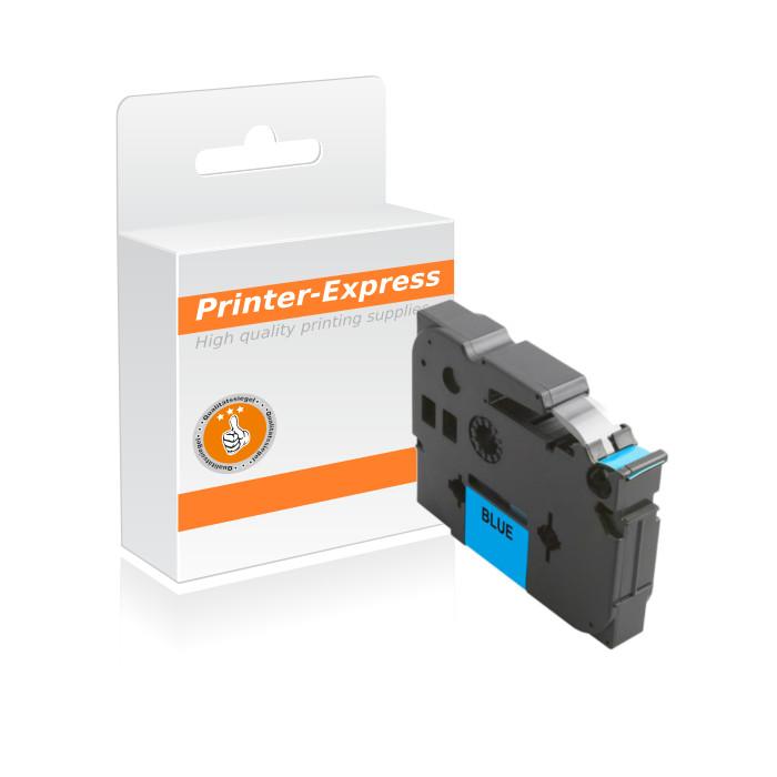 Schriftbandkassette kompatibel zu TZ-521, TZE-521 schwarz...